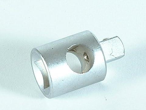 Teng M120036 C T Bar Adaptor 1/2in Female/3/8in Male - 1/2in Square Drive
