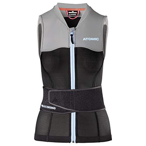 ATOMIC Damen Live Shield Vest W Ski-Protektor-Weste, black/grey, M