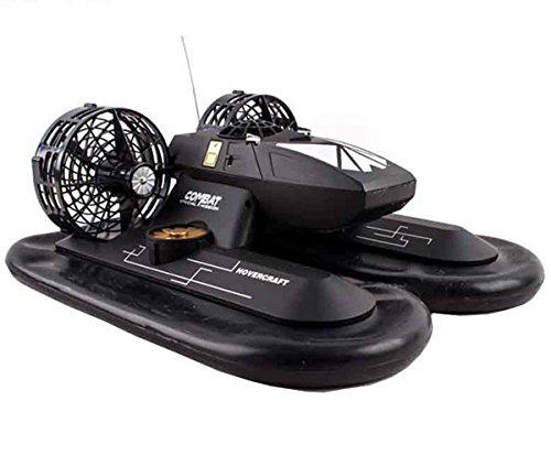 deAO RC Amphibious Hovercraft Boot Enthält Akkus und USB-Ladegerät