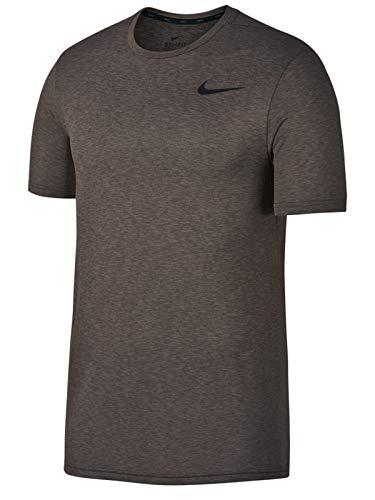 Nike Legend Short Sleeve Tee (Sepia Stone/Ridgerock/Black, Large)