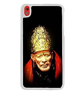 Fuson Designer Back Case Cover for HTC Desire 816 :: HTC Desire 816 Dual Sim :: HTC Desire 816G Dual Sim (Indian saint sabaka malik ek aao sai)