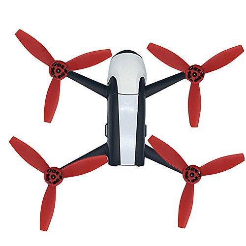 Für Parrot Zubehör , 4X Upgrade Rotor Propeller Requisiten für Parrot Bebop 2 Drone (rot) -
