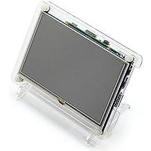 Raspberry Pi pantall táctil de 5inch con caja para Raspberry Pi 2/3 BB BLACK//Banana Pi Mainboard/PC