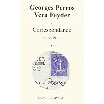Correspondance (1966-1977)