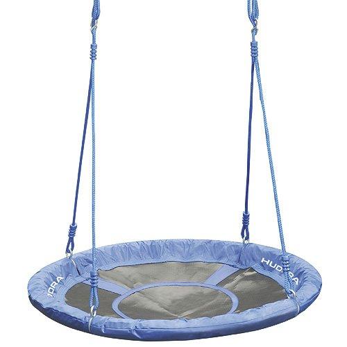 *HUDORA Nestschaukel 90 cm, blau – Garten-Schaukel bis 100 kg belastbar – 72126*