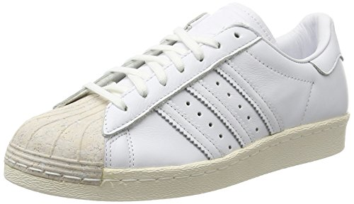 adidas Damen Superstar 80s Cork Gymnastikschuhe, Elfenbein Footwear Off White, 39 1/3 EU