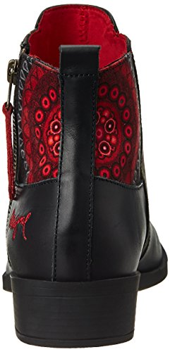 Desigual  NATALIA 18 Damen Kurzschaft Stiefel Rot (3093 KETCHUP)