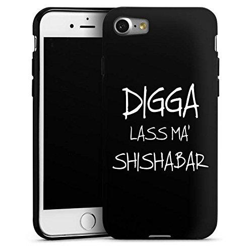 DeinDesign Silikon Hülle kompatibel mit Apple iPhone 7 Case Schutzhülle Shisha Yallah