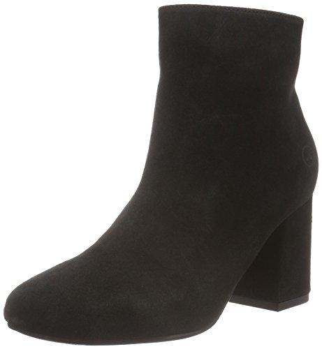 Bronx Damen Indira Kurzschaft Stiefel, Schwarz (Black 01), 39 EU (Leder Bronx High Heels)