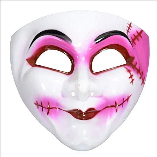 Fairy Für Queen Kostüm Erwachsene - Xiao-masken Maske Maskerade Prom Maske Halloween Maskerade Show Horror lustiges Gesicht Clown Dress Up Horror Scream Fairy Queen Maske Maske