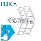 Antenna Fracarro Elicoidale Elika Canali E21-E60 Banda UHF Guadagno 17DB LTE Passiva Predisposta a Puntamento Automatico 213226