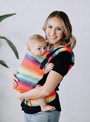 Baby Tula - Free-to-grow AFTER THE STORM Marsupio regolabile per neonati, ergonomico, con diverse posizioni per 3,2-20,4 kg Limitato
