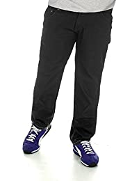 e67652b3ea88 große Größe Herren Jeans bequeme Passform Jeans Duke Rockford schwarz Denim- Hose
