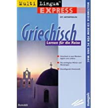 MultiLingua express Griechisch. CD- ROM für Windows 3.1/95/98/ NT, Mac ab 7.0
