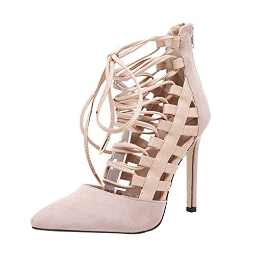 Bianco überkreuzen Sandaletten