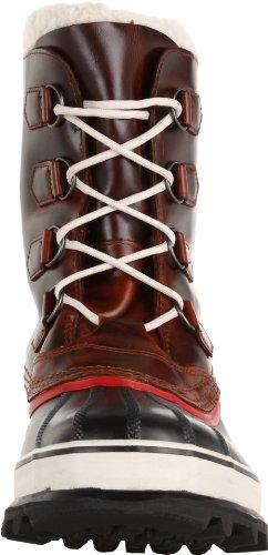 Sorel CARIBOU WOOL, Stivali da neve Donna, con rivestimento Marrone (Braun (Burro 282))