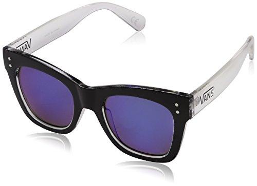 Vans sunny dazy sunglasses occhiali da sole, nero (black-clear), 1