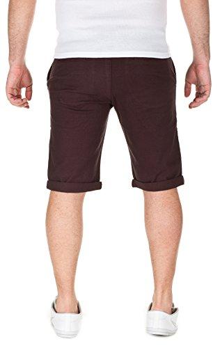 WOTEGA Herren Chino Shorts Bermuda Kallari dark brown (81769)