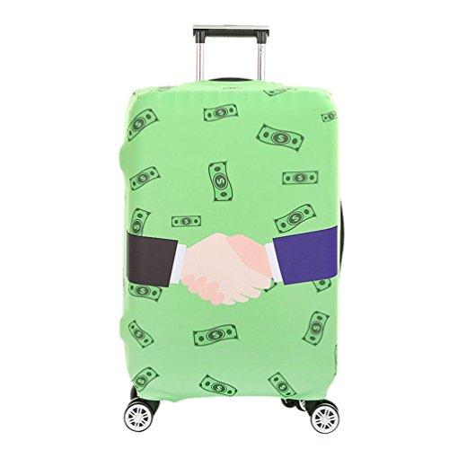 YiJee Antipolvere Copertura per Valigia Elastica Mano Protettore Bagagli Cover Suitcase Come I'immagine 1 S