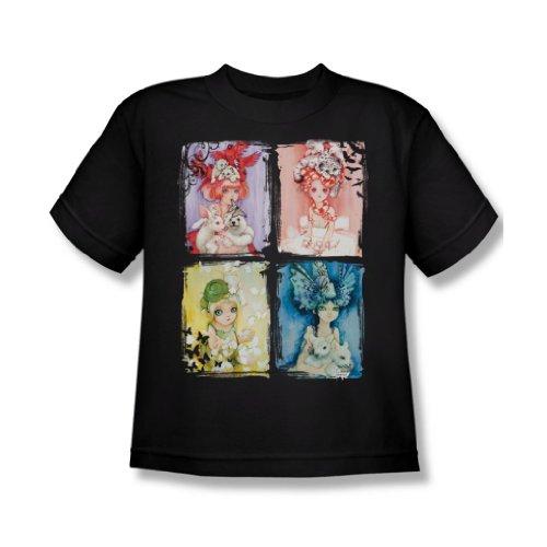 Helmet Girls - Back To Nature Jugend-T-Shirt in Schwarz, Medium, Black (Jugend-natur-t-shirts)