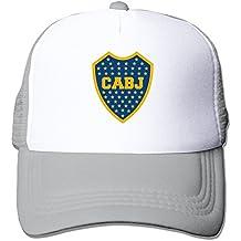 Última adultos Unisex escudo del club atletico boca juniors 100% nailon tapas de malla talla única ajustable deporte sombrero