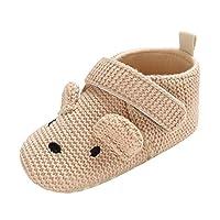 MERICAL Baby Girls Shoes Infant Newborn Boys Prewalker Cartoon Animal Soft Sole Single Shoes