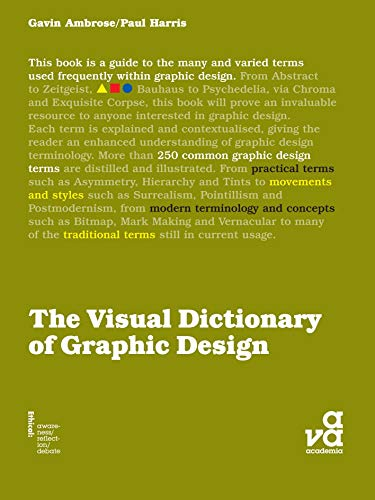 The Visual Dictionary of Graphic Design (Visual Dictionaries) (English Edition)