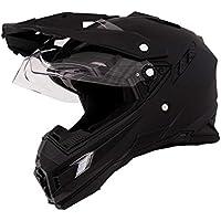 O 'neal Sierra Adventure Enduro MX-Casco para moto Flat, color negro Talla:XS