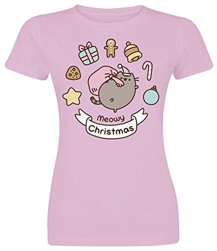 Pusheen -  T-shirt - Donna Light Pink Medium