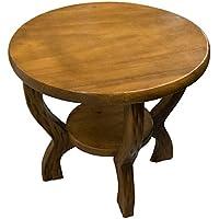 ROMBOL Handgefertigter, Stabiler Kindertisch, rund, Holz preisvergleich bei kinderzimmerdekopreise.eu