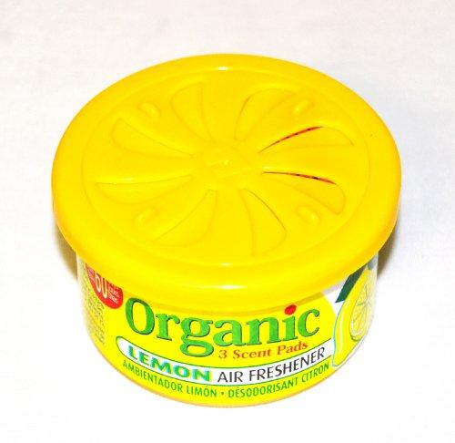 Preisvergleich Produktbild Organic Scents Cans for Cars Duftdose Lemon - Zitrone Lufterfrischer Autoduft 38g