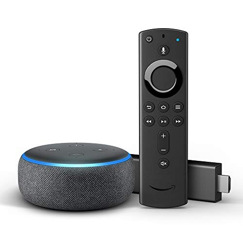 Fire TV Stick 4K mit Alexa-Sprachfernbedienung  + Echo Dot (3. Generation)