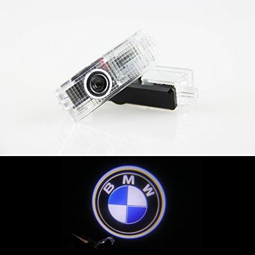 Casloyal 2er Pack Autotür Logo Projektion Licht Türbeleuchtung Willkommen Licht