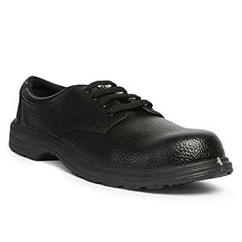Leather Tech Safety Hillson U-4 PVC Moulded Safety Shoe, Black Size-10