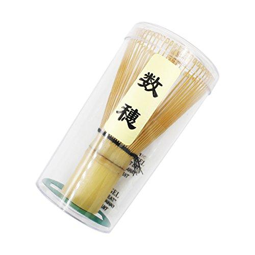 Ulable. Herramienta de bambú chasen para batir té matcha en polvo, accesorio para la ceremonia del té japonesa, 60-70/70-75/75-80 varillas, bambú, 60-70 prongs