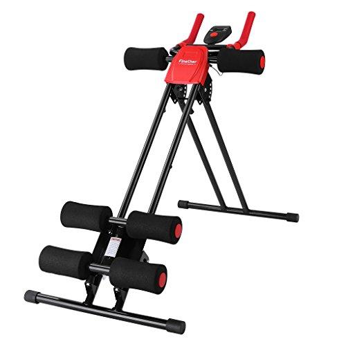 Finether Attrezzo per Addominale, Panca Addominali,150 Fitness Power AB Trainer, Pieghevole