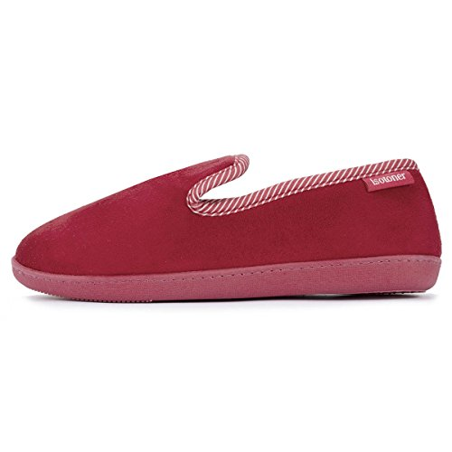 Isotoner, Pantofole donna Rosso