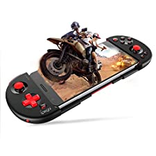 Ipega PG-9087 Red Samurai Bluetooth Gamepad Game Controller Extendable Holder Wireless Joystick Smartphone up to 6.2 inches Remote Control for Android / PC