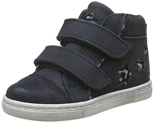 Mod8 Tara, Chaussures Premiers Pas Bébé Fille, Bleu (Marine), 24 EU