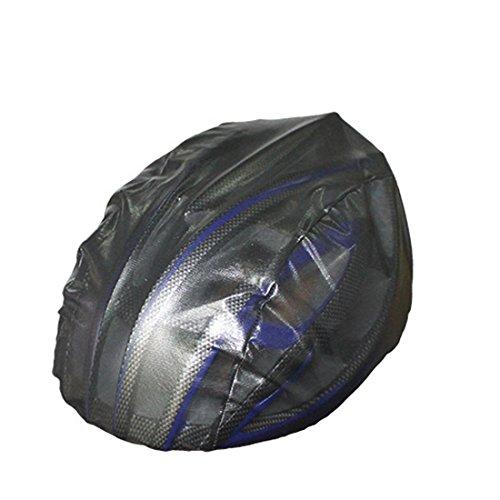 1PS Fahrrad Helm Ultraleichte winddicht Staubdicht Regen, schwarz