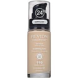 Revlon Colorstay Makeup Foundation Für Normale Bis Trockene Haut Spf15#110 Ivory 30ml