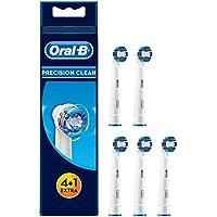 Oral-B Precision Clean Aufsteckbürsten, Umschließt jeden Zahn einzeln für eine optimale Reinigung, 4+1 Stück