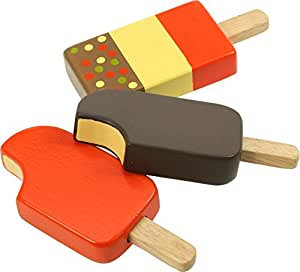 Bigjigs Toys Ice Lollies (One Supplied)