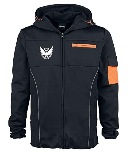Figuren Kostüm Sport - Tom Clancy's The Division M65 Kapuzenjacke schwarz/orange M