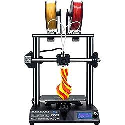 GEEETECH A20M Impresora 3d con Mix de color de impresión integrada, Prusa I3 rápido de Kit DIY de montaje
