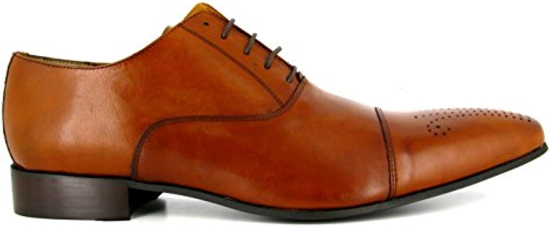 Derby J.Bradford Cuero Camel JB-Darvin  Zapatos de moda en línea Obtenga el mejor descuento de venta caliente-Descuento más grande