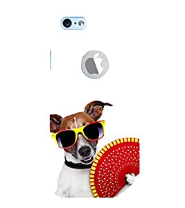 99Sublimation Dog with colourful Specs 3D Hard Polycarbonate Back Case Cover for Apple iPhone 6S