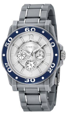Breil Reloj de cuarzo Mantalite Gris 41.5 mm