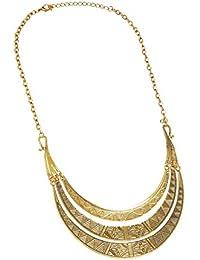 67baf99dd33a Bristol Novelty BA3224 - Collar egipcio para mujer