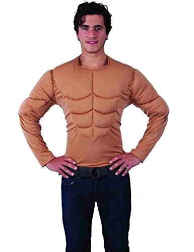 Muskel OberköKörper nach oben Karneval Fasching Verkleidung Herren (Muskel Body Kostüm)